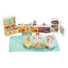 kitchen set furniture calico critters kozy kitchen set target
