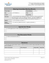 Project Follow Up Template Excel Excel Meeting Agenda Template