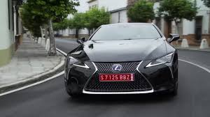 lexus in palm beach lexus lc 500h driving video in black trailer automototv youtube