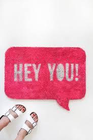 25 best ideas about pink door mats on pinterest outdoor