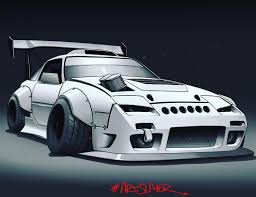 hoonigan rx7 twerk stallion images tagged with quintdraws on instagram