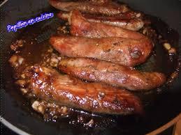 cuisiner aiguillettes de canard recette aiguillettes de canard sauce soja et miel papillon en
