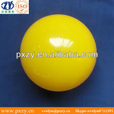 80mm large yellow plastic play balls with soft ldpe material for