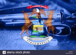 Michigans State Flag Michigan State Police Stock Photos U0026 Michigan State Police Stock