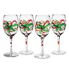 painted wine glasses by clearly susan