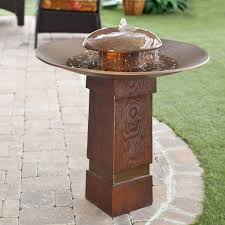 kenroy portland sound garden water outdoor bird bath fountain