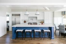 blue kitchen island blue kitchen island with pacific white marble countertop