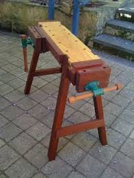 Portable Work Bench Mini Workbench A Saw Stool On Steriods By Greg Miller Looks