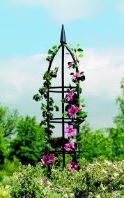 garden obelisks metal garden obelisks u0026 wooden obelisk planters