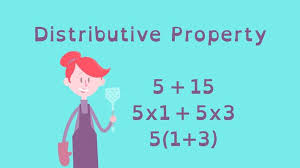 equivalent expressions with the distributive property math