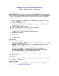Special Education Teacher Resume Objective Special Education Teacher Job Description Resume Free Resume