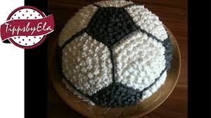 football cake how to make a football cake for a birthday party soccer