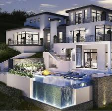modern mansions amazing los angeles hollywood hills mansion with infinity edge
