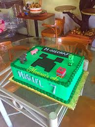 minecraft birthday cake visit marissa u0027scake