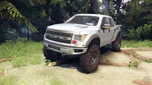 Ford Raptor Modified - ford raptor svt 08 11 15 for spin tires