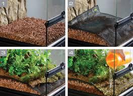 exo terra bio drain mesh terrarium draining mesh