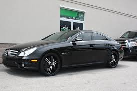 2010 mercedes cls 550 black cls 550 with 20 blaque wheels mbworld org