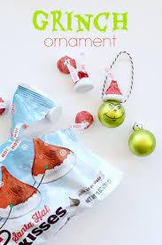 grinch ornament craft with hershey u0027s grinch ornaments grinch