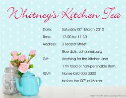 kitchen tea invites ideas creative inspiration kitchen invitation cards design create
