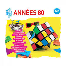 decoration annee 80 coffret 3 cd all you need is annees 80 musique humour