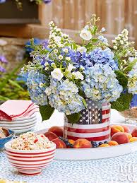 Decorate A Vase Easy 4th Of July Decorations