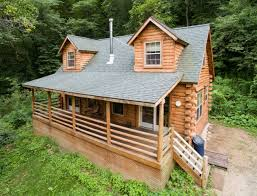 secluded log cabin with tub cabins for rent in de soto