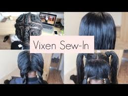 versatile vixen sew in vixen sew in weave tutorial that you can put in a ponytail