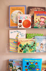 Bookshelves Library Girls U0027 Room Acrylic Bookshelves U0026 A Library Wall Pepper Design Blog