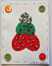 create a christmas card s c r a p scraps creatively reused and recycled projects