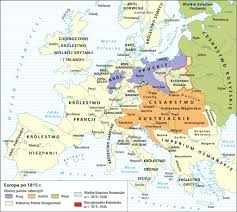 Europe 1815 Map by Poland 1815 1848 Maps Pinterest