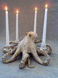 Octopus Home by Nautical Ceramic Octopus Candelabra By Shayne Greco Beautiful
