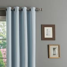46 Inch Length Curtains Home Thermal Insulated Blackout Grommet Top 84 Inch Curtain