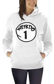 weirdo 1 costume women hoodie halloween matching couples best