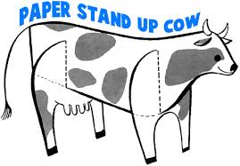 cow crafts for kids make cows with arts and crafts projects and