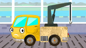 monster truck cartoon videos tow truck car wash game video for kids trucks cartoon