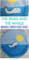 the snail and the whale crafts movable paper plate crafts on sea