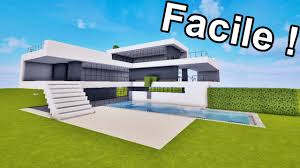Plan Minecraft Maison by Maison Ultra Moderne Facile à Faire Sur Minecraft Tutoriel