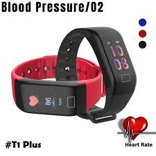bracelet heart rate monitor images New f1 plus smart wristbands fitness bracelet blood pressure smart jpg