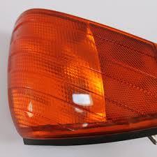orange mercedes orange flashing light right mercedes sl r129 a1298260143