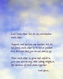 wedding wishes kahlil gibran khalil gibran quotes pinteres