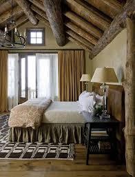 Solid Banister White Rustic Bedroom Dark Brown Solid Wood Oak Rug On Wooden Floor