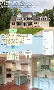 best ideas about house plans pinterest floor architectural designs house plan gorgeous farmhouse with optional bonus space over gargage