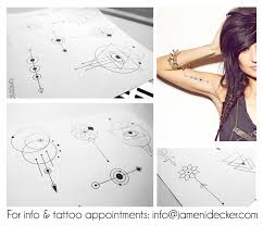 geometrical tattoo designs 2 by james nidecker