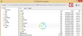 how to unzip files on android how to extract system img files or get system dump of android devices