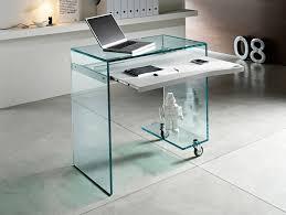 Modern Glass Executive Desk Office Desk Ergonomic Desk Glass Study Desk Contemporary Desk