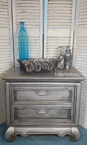 Silver Painted Furniture Bedroom 30 Best Silver Painted Furniture Images On Pinterest Furniture
