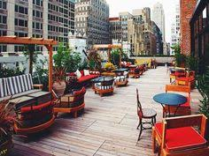 Top 10 Rooftop Bars New York Top 10 Rooftop Bars In New York The Roof At The Viceroy Central