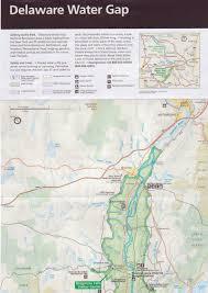 Map Delaware Chamberlain Canoes