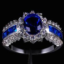 tanzanite blue rings images 2018 jenny g jewelry women 39 s blue tanzanite stone 10kt gold filled jpg