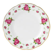 royal albert new country roses white vintage plate 16cm royal